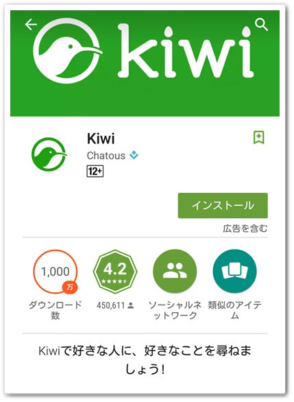 Kiwi インストール