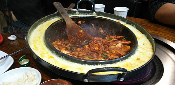 韓国 チーズタッカルビ